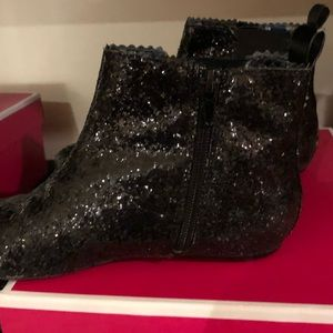 Juicy couture girls shimmer booties